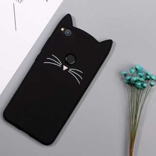 Black cat Vivo V7+ case