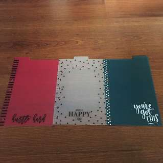 MINI HAPPY PLANNER DASHBOARDS