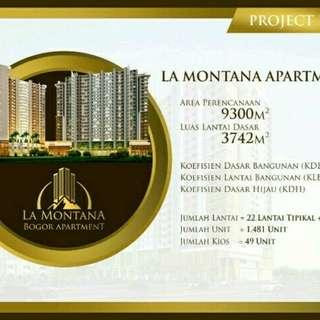 LA Montana Bogor Apartement
