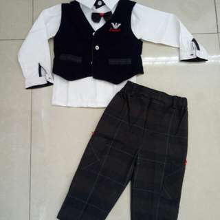 Set formal anak laki2
