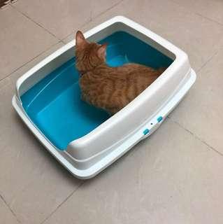 貓砂盆 便便盤