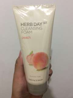 Cleansing Foam (peach)