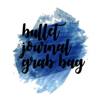 Bullet journal grab bag