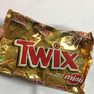 Twix, Snickers Almond, Milky Way Caramel, Milky Way