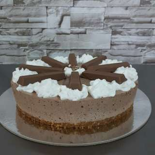 Kitkat Cheesecake ( No Bake )7