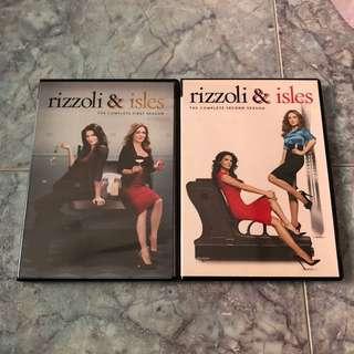 Rizzoli & Isles DVD