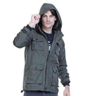 Jaket cowok jaket PARKA ARMY