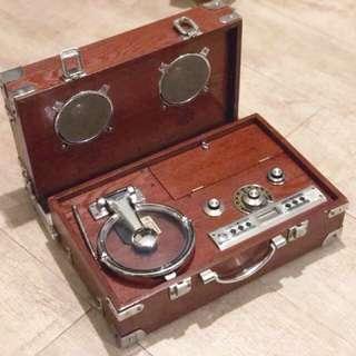 中古唱片機 可聽收音機