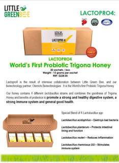 Probiotic Honey Lactopro4