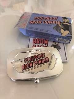 Benefit foolproof brow power