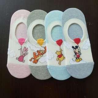 Disney Balloon 🎈 Loafer Sock (3 for $10.00)