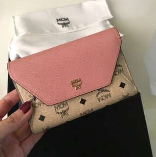 MCM wallet pink