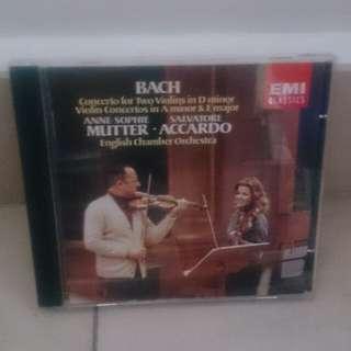 EMI Bach classical cd