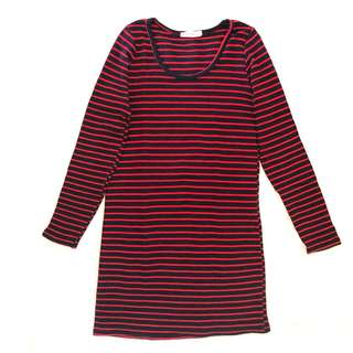 ISSUE - Striped Long-sleeved Top - S