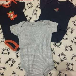 Baby shortsleeves jumper 3m, 6m, 9m