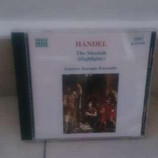 Handel Messiah classical cd