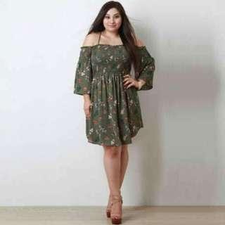 🌸Plus Size Dress 💕Free Size L-XXL 💕1Color 💕COTTON