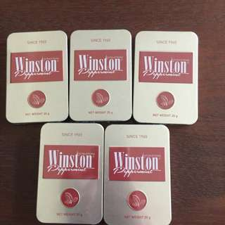 Winston Peppermint New Package