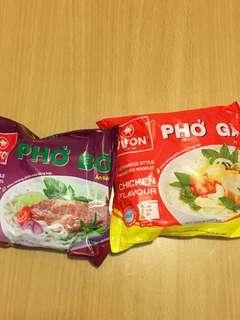 (Pho) 越南即食河粉 牛肉味 雞肉味 Pho Bo Pho Ga 多買多平
