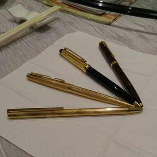 古董名貴金筆