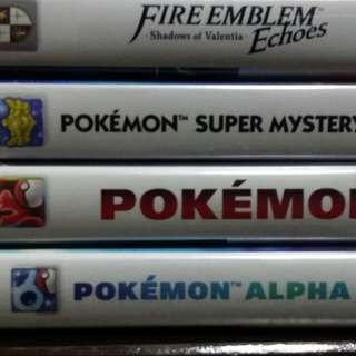 ASSORTED 3DS GAMES