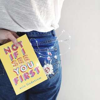 🌷 not if i see you first - eric lindstrom [PAPERBACK] 🌷