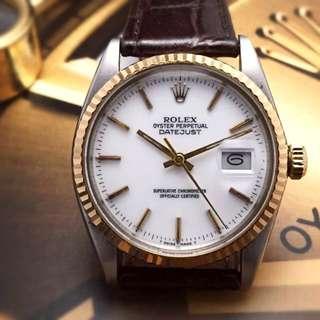 OHPC-      36mm Datejust '16013' Project Watch