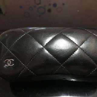 Chanel Quilted Eyewear Case