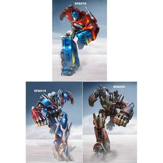 TRANSFORMERS POSTERS (PART 1)