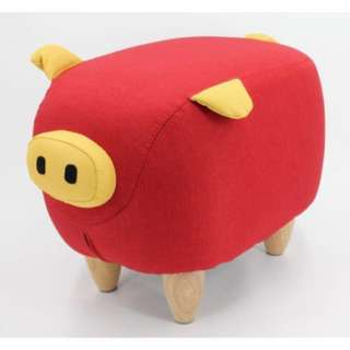 Lucky red pig