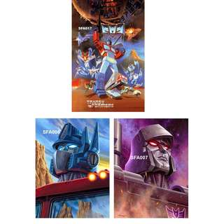 TRANSFORMERS POSTERS (PART 2)