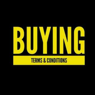 MARCH MAKNAE TERMS & CONDITIONS OF BUYING