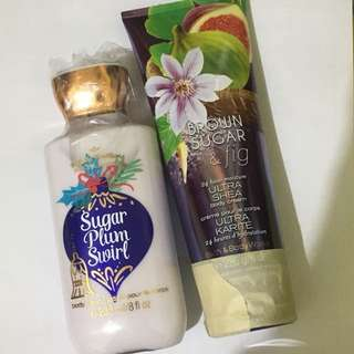 Bath and body works lotion 400 for 2