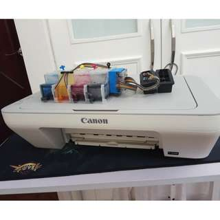 Canon Printer Scanner 2 in 1 PIXMA MG2470 連續供墨