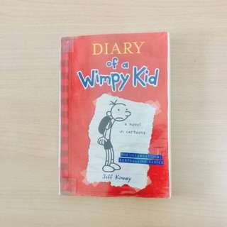 DIARY OF A WIMPY KID by Jeff Kinney BOOK