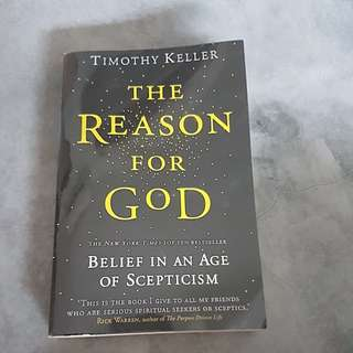 Timothy Keller- The Reason For God