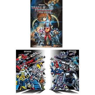 TRANSFORMERS POSTERS (PART 3)