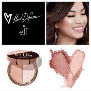 ELF - Heart Defensor Highlighter Palette