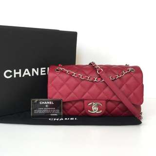 Authentic Chanel Easy Medium Flap Bag