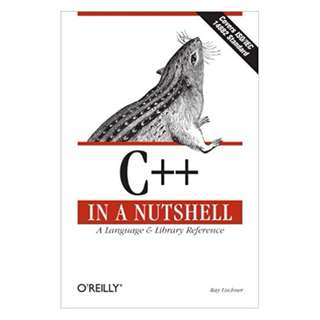 C++ In a Nutshell: A Desktop Quick Reference (In a Nutshell (O'Reilly)) 1st Edition, Kindle Edition by Ray Lischner  (Author)