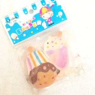 Ice Cream Eraser Made in Korea / Penghapus Es Krim Korea
