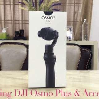 Dji Osmo Plus With 3.5 Optical Zoom