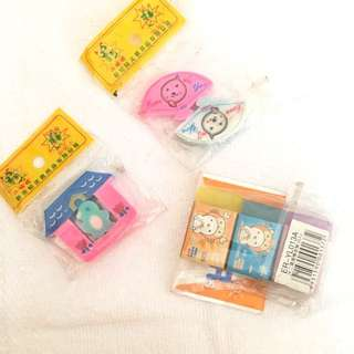 Mix Eraser Made in China / Penghapus Campuran China