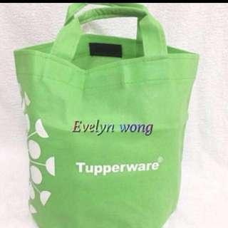 🍀 Tupperware Tote Bag / Lunch Bag / Multipurpose / Carrier