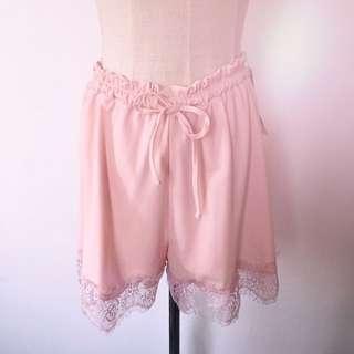 🇯🇵Emsexcite lace trim shorts