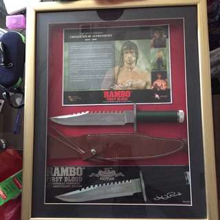 Rambo First Blood Rare Collector's Item