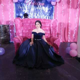 OFF SHOULDER GOWN FOR RENT
