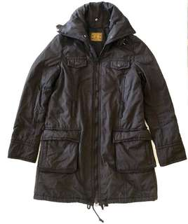 Black Winter Jacket/Coat/Parka - S to M