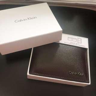 Calvin Klein 男短銀包