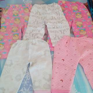 Take All 5pcs Pajamas (fits 1.5  to 2.5yrs old)
